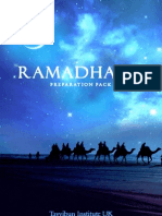 Ramadhaan Preparation Pack  - Ramzan Best Practices Guide