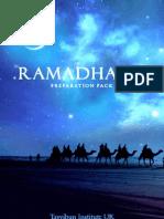 Ramadhaan Preparation Pack  - Ramzan Best Practices Guide