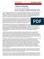 Principles of mental physiology
