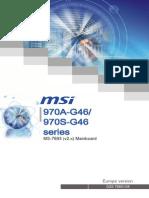 Manual MB MSI 970A-G46 Multi