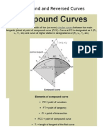Compound and Reversed Curves