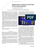 Detecting Morphological Nature of Cancerous Cell Using Image Processing Algorithms