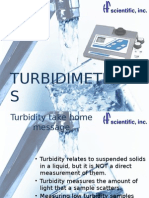 ppt on Turbidity meters