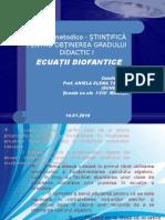 Ec Diofantice