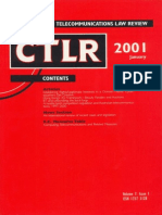 Computer And Telecommunications Law Review