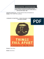 Summary Things Fall Apart (chapter 1 - 5)