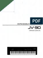 Manual Roland JV-90