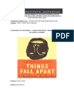 Summary Things Fall Apart (chapter 1-5)