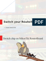 MikroTik Switch Concept
