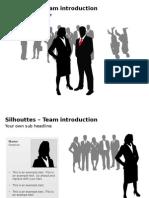 PowerpointSilhouettesTeam.ppt