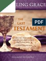 Unveiling Grace the Last Testament