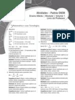 Gabarito Livro de Atividades Do ENEM 2014