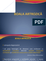 2.Boala artrozica