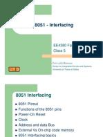 8051 - Interfacing