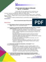Program FIE2015 Pe Zile
