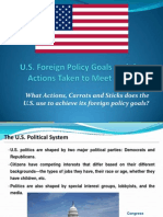 U.S. Foreign Policy Goals - Andrei Enachi [Autosaved]