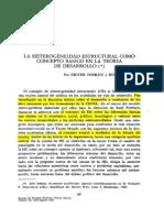 9 - Nohlen, D & Sturm, R - La Heterogeneidad Estructural Como Concepto Básico