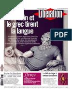 Libération du Jeudi 23 Avril 2015