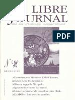Libre Journal de la France Courtoise N°096
