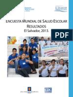 Encuesta Mundial Salud Escolar El Salvador2014