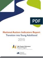Natl Autism Indicators Report April 2015