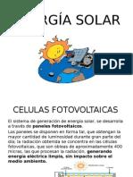 Energía Solar, Ppt de Tec.