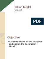 covariation model lesson