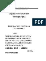 Liq Mej Linea Linea Prim Media Tens 22.9 Kw