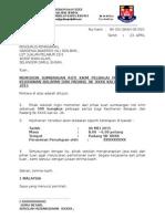 Surat Mohon Sumbangan Roti Gardenia