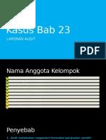 Kasus Bab 23 Auditing II