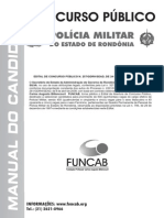 Polícia Militar Ro - Manual Do Candidato