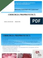 Prelegere Chirurgia Proprotetica Stud an 5