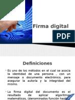 Presentacion Firma Digital