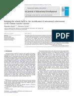 Mizala y Torche - Estratificación en Ed Particular Subvencionada