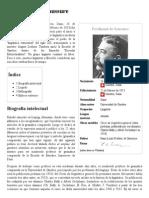 Ferdinand de Saussure - Wikipedia, La Enciclopedia Libre