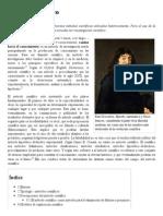 Método Científico - Wikipedia, La Enciclopedia Libre