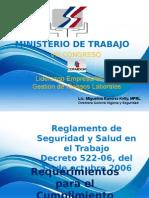 Reglamento 522 06 Miguelina Ramirez