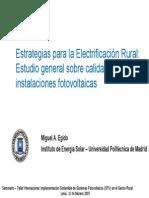 Estrategias de Electrificacion Rural