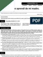 HCV - Seis Cosas Que Aprendí de Mi Madre - 10May2015