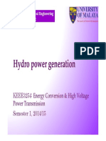 Slide KEEE3254 2014 W1 Hydro Power Generation