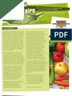 Coatlition Souverainté alimentaire - Bulletin Jan2010