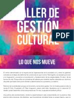 Taller de Gestión Cultural en Mérida