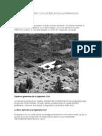 Etica Del Ingeniero Civil en Relacion Al Patrimonio Cultural