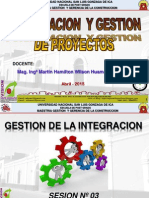LA GESTION DE LA INTEGRACION