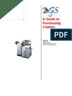 Purchasing Copiers