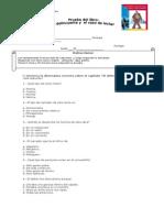 prueba libro 7° EL DELINCUENTE Y EL VASO DE LECHE