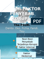 Faktor-faktor Penyebab Korupsi
