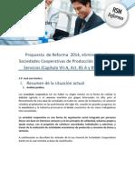 Régimen Soc Cooperativas RF 2014