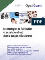 Fidélisation Banque Et Assurance