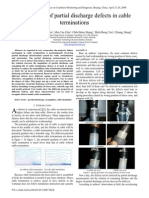 Recognition of Partial Discharge Defects in Cable Terminations